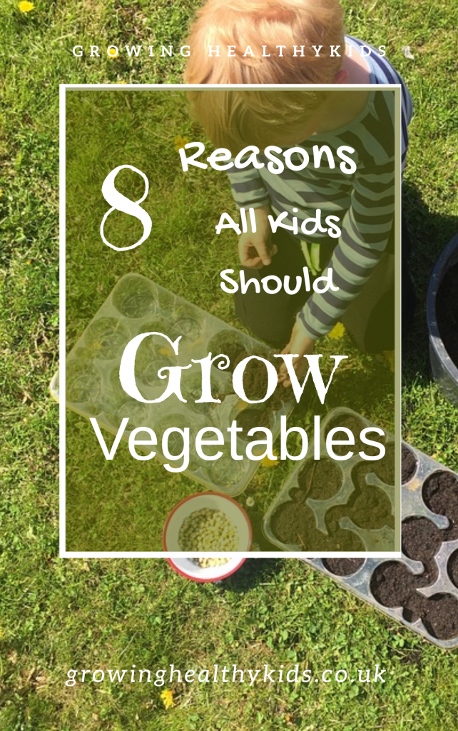 Kids Should Grow vegetables