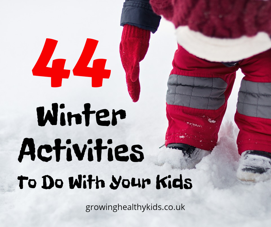 Winter activities to make the best from a cold january. Crafts and activities for kids