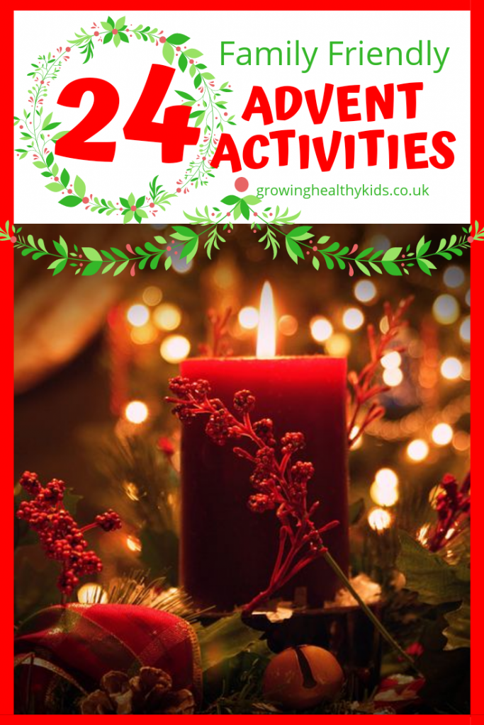 24 advent activities to keep the kids having fun this christmas