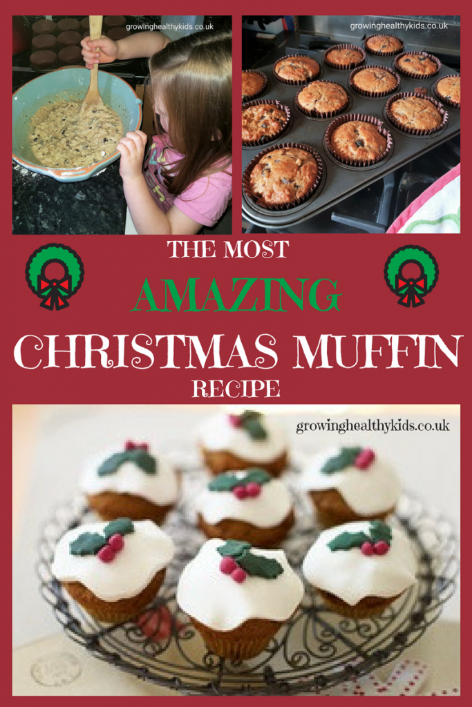 The most amazing Christmas muffin recipe