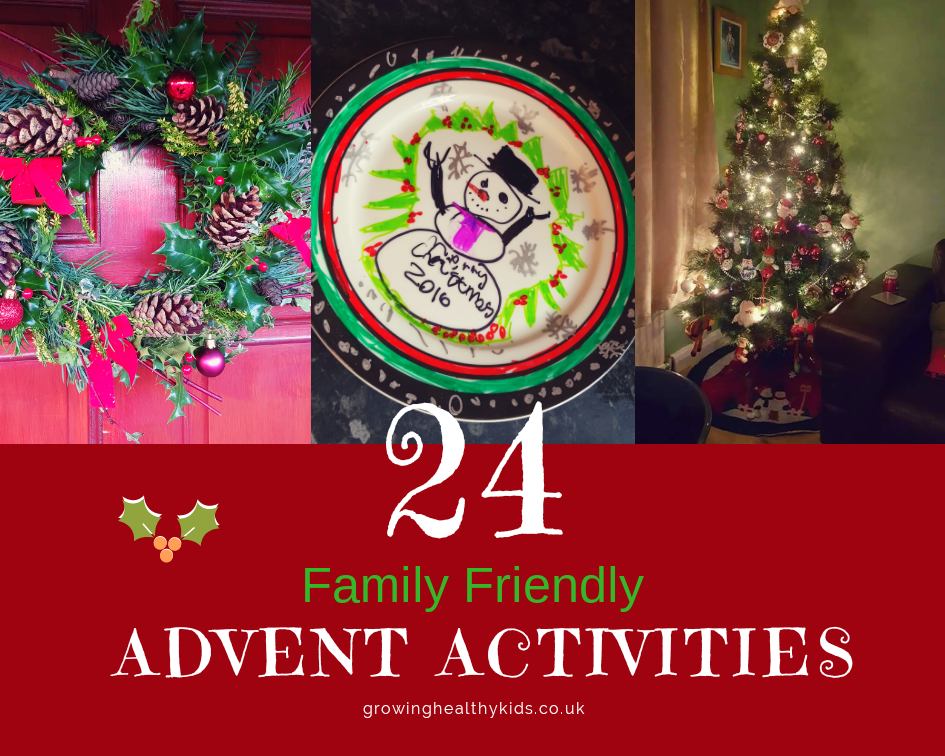 24 Family Friendly Advent Activities