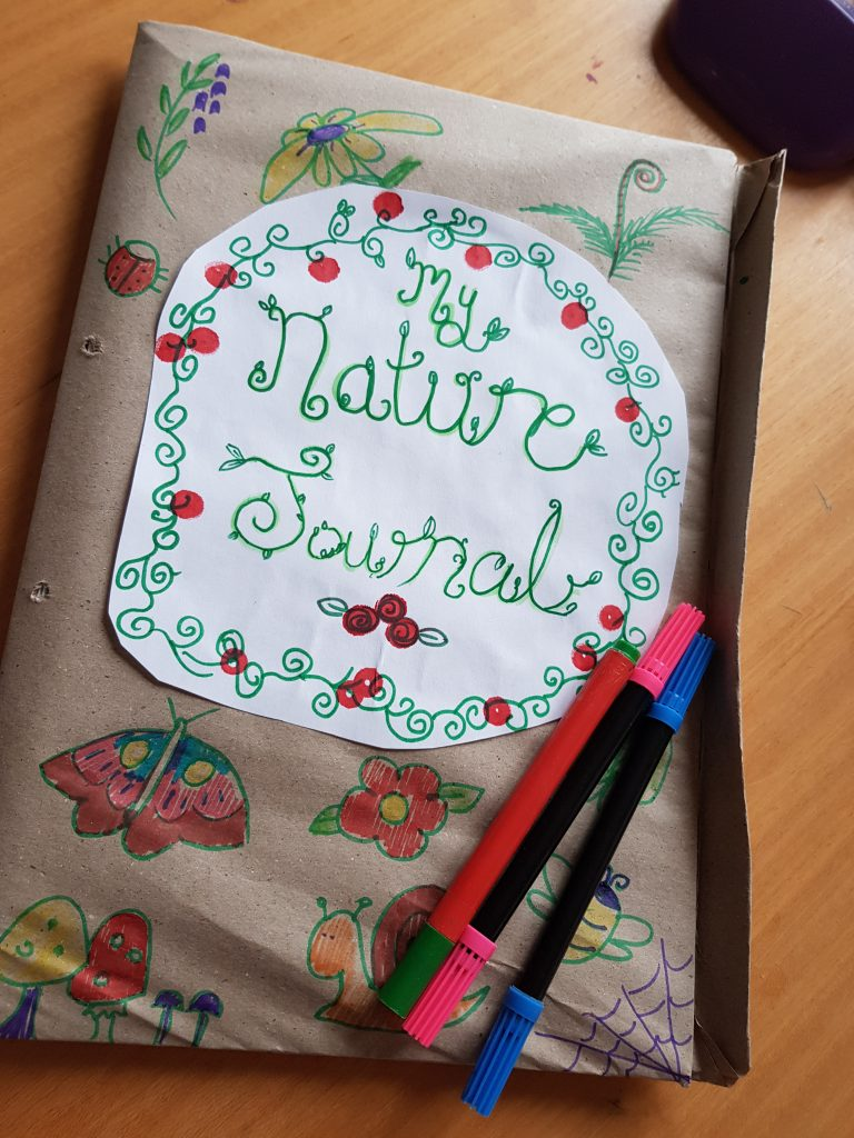 A QUICK GUIDE TO MAKING A NATURE JOURNAL.