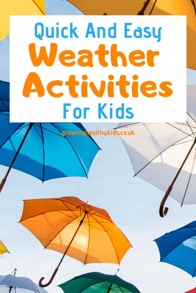 Easy weather activities for kids
