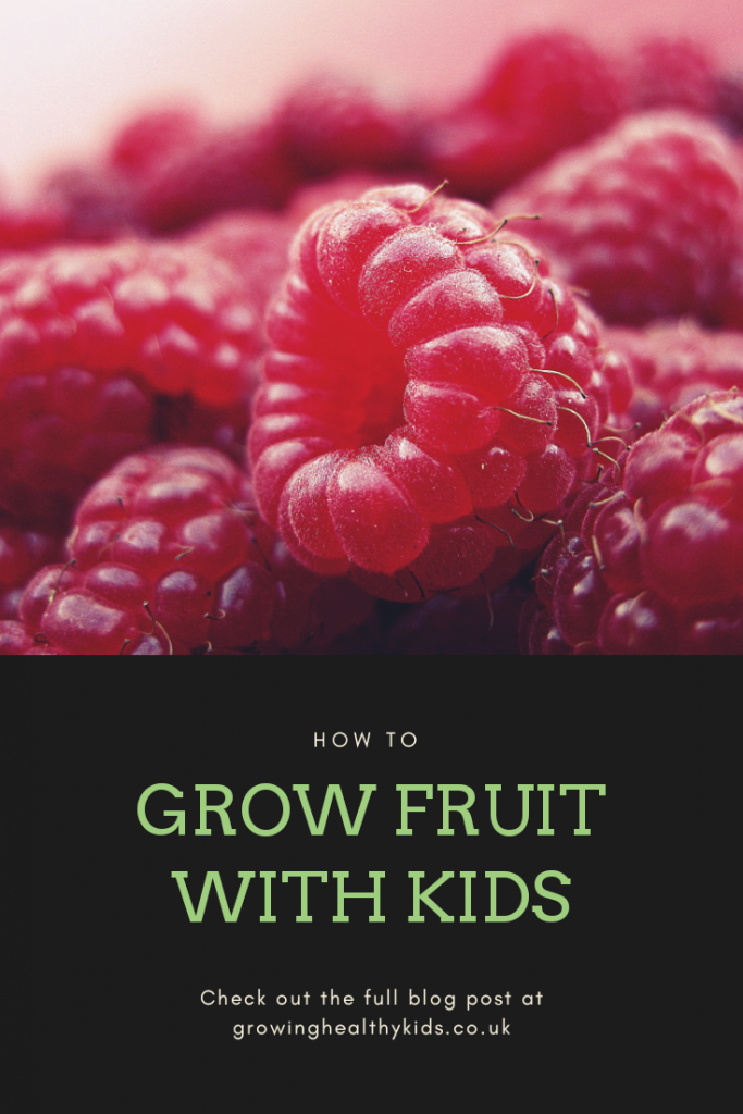 Growing fruit with kids