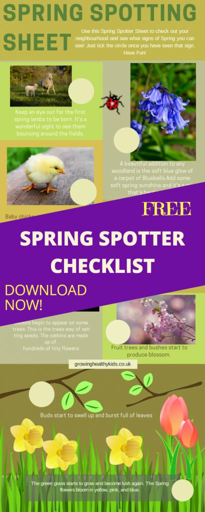 Signs of spring spotting checklist