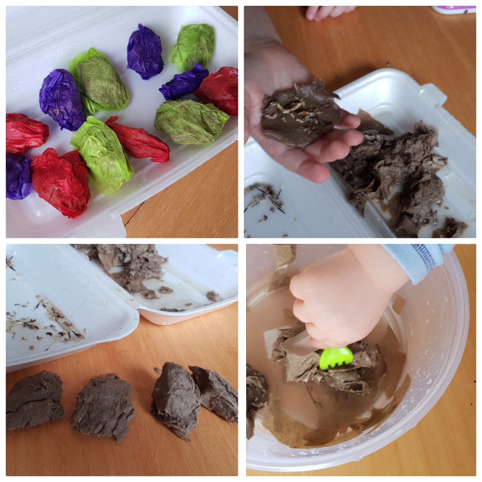 We love this fantastic diy seed bomb craft for kids. Complete with instructions on how to make your seedball, and how to plant them. Brilliant results and great for the bees. Only using paer and wildflower seeds!!