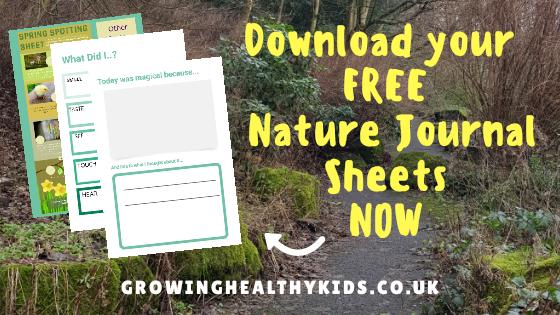 Nature Journal printables