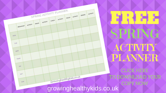 FREE Printable Spring Activity Planner. Grea\t for planning all your famillies activities to avoid the stress of bored kids