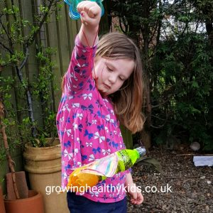 A fantastic spring recycling craft for kids
