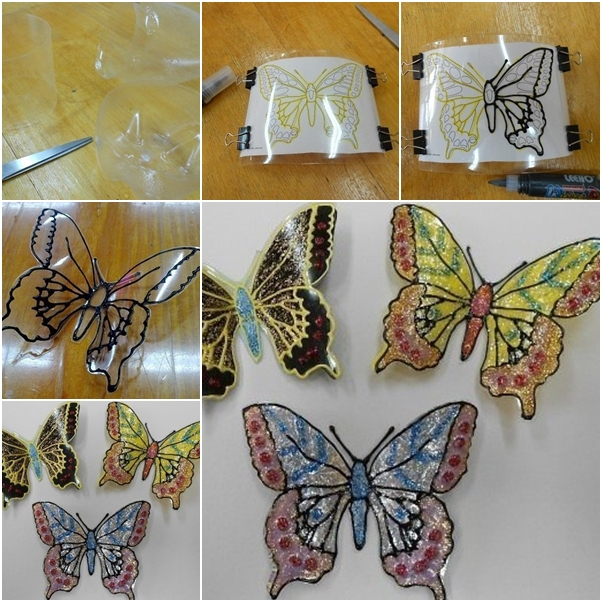 Butterfly garden craft