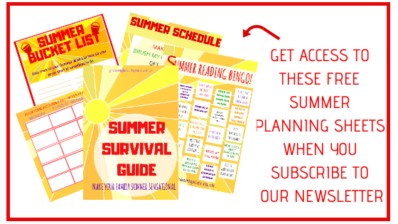 Plan your summer
