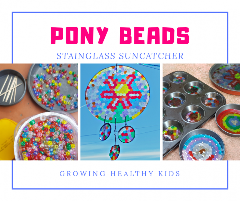 Pony bead craft