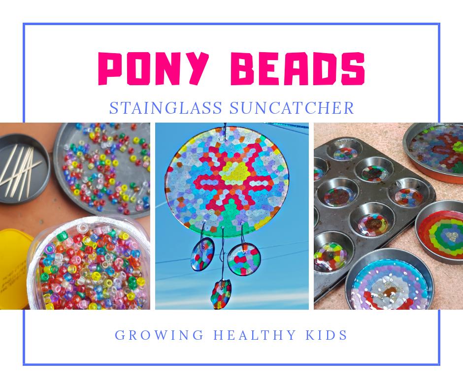 Pony bead craft
