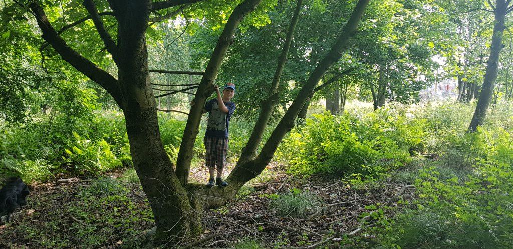 Outdoor kids need risks