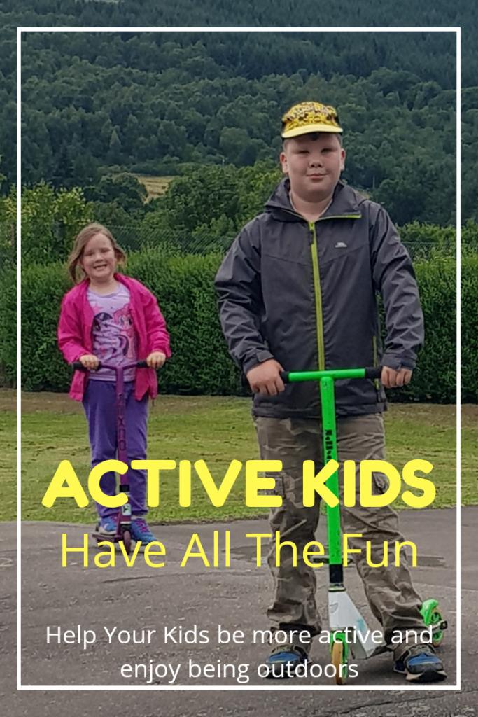 Kids activities outdoors