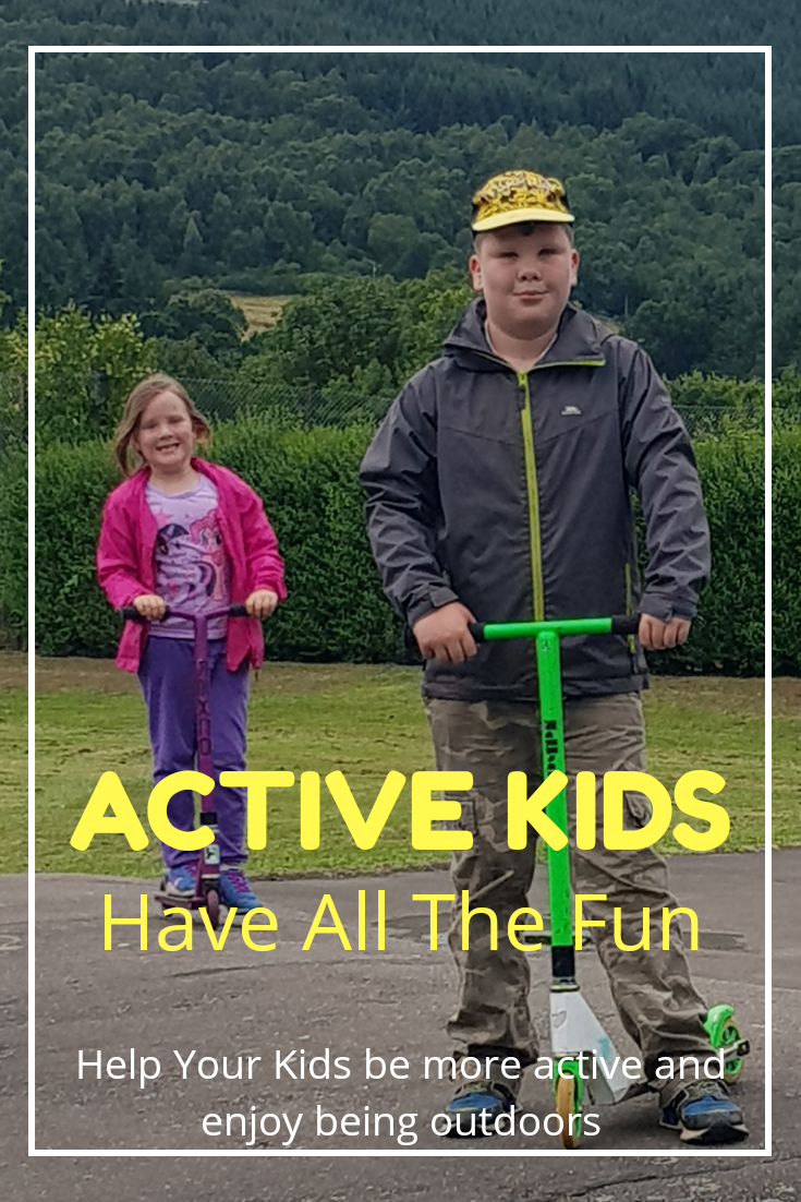 Kids activities outdoors
