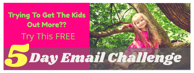 Get kids outdoors with this email course