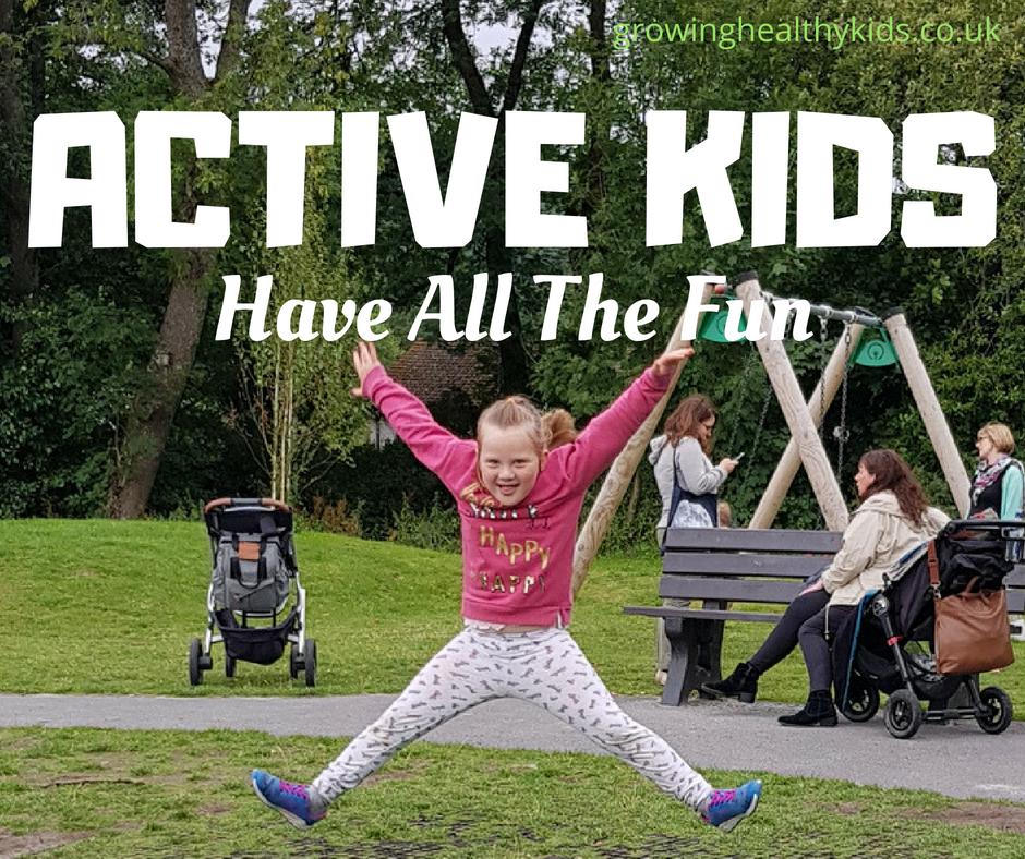Activities to help kids get active outdoors this autumn