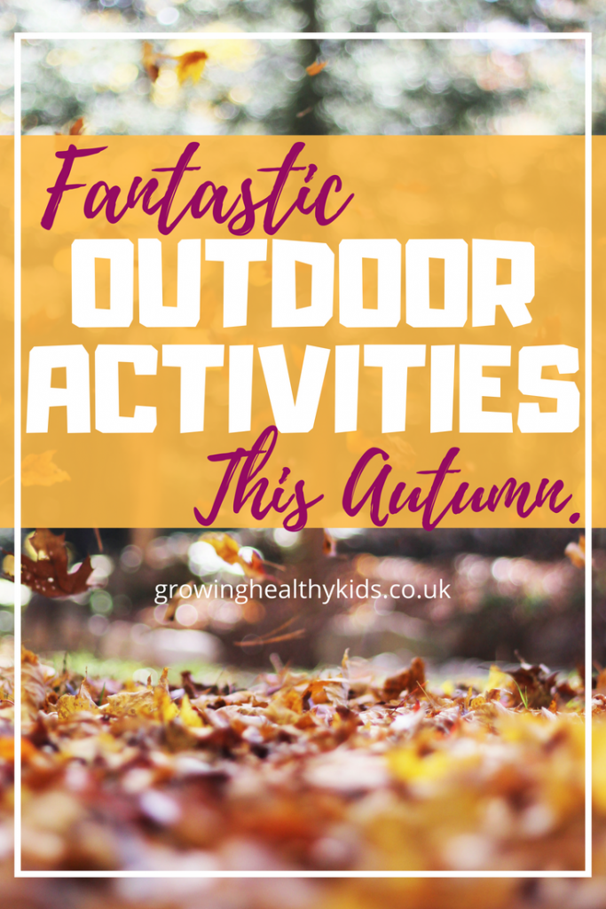 Outdoor activities you can do with your kids this autumn. Fall is great time to craft, do acti