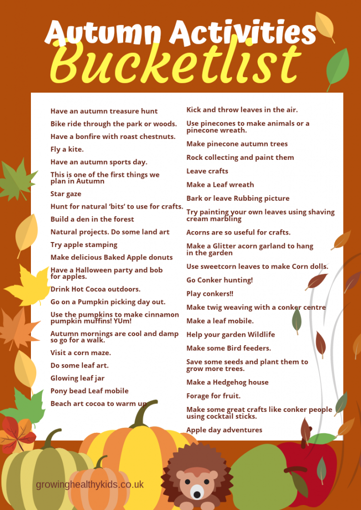 Autumn activities to keep the whole family entertained from toddler to teen