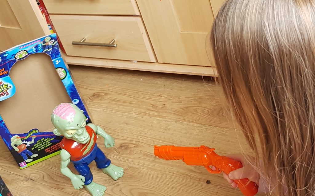Fantastic fun game for Halloween. Little kids love playing with him. Try lots of activities for toddlers here.