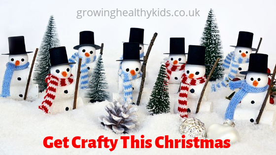 Get crafty with the kids this christmas as well as recipes and activities