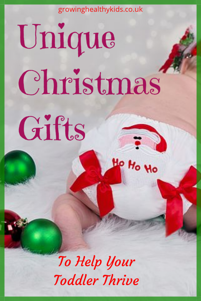 unusual, inexpensive toys to give toddlers that will last beyond Boxing day. Famillies can play together with these ideas that have are reusable or multi-use. Great gifts to give to children from moms and dads, or grandpaprents