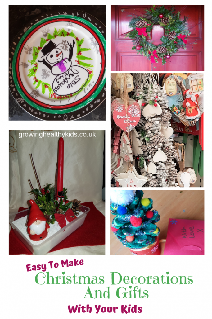 easy to make decorations to make for christmas, fun craft ideas to make decorations and gifts for your friends and family using materials from your garden or recycling bag such as mason jars, Perfect way to craft with the kids and make beautiful gifts too.