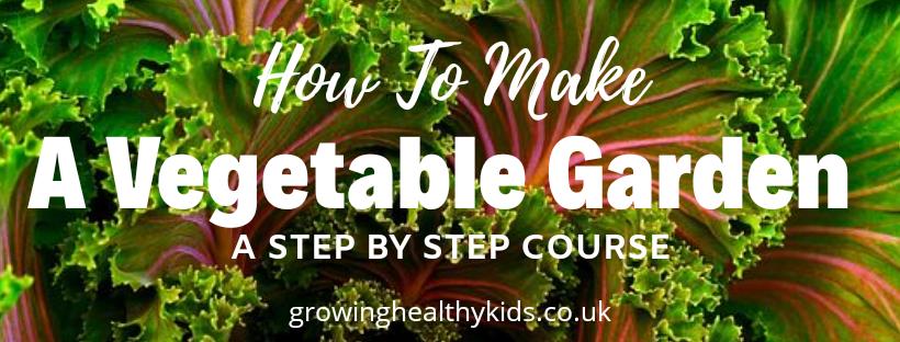 Vegetable garden course
