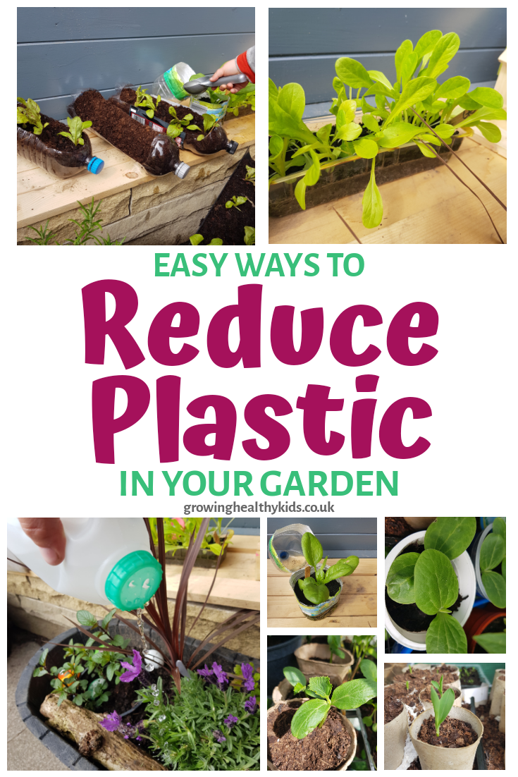 Diy ideS and crafts to help you reduce waste materials and plastic in your garden and help the plant too.