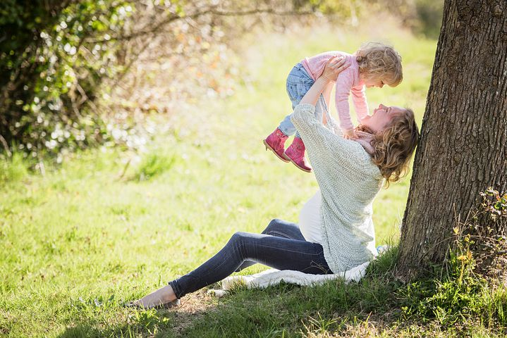 Get out with your kids for easy stress relief