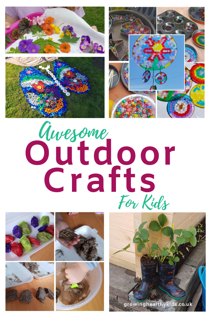 Brilliant back yard crafts and activities to do with your kids. With these Diy crafts you can have fun with outdoors in Spring, Summer or Fall