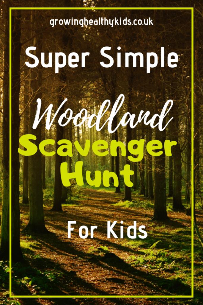 Simple svavenger hunt ideas for kids