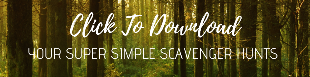 download a super simple scavenger hunt here