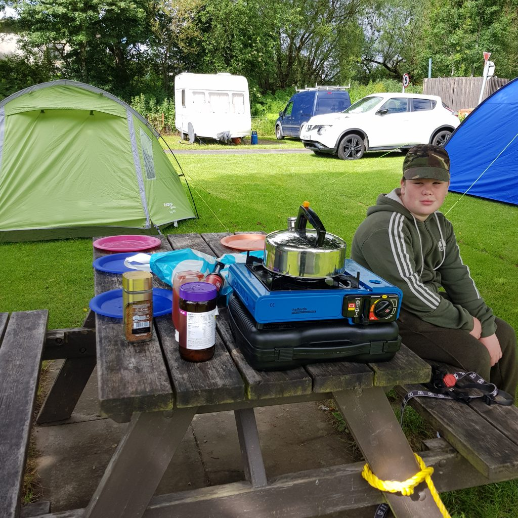 Camping with kids can be hard but with these tips and ideas youll not go wrong. Theres even a checklist!!