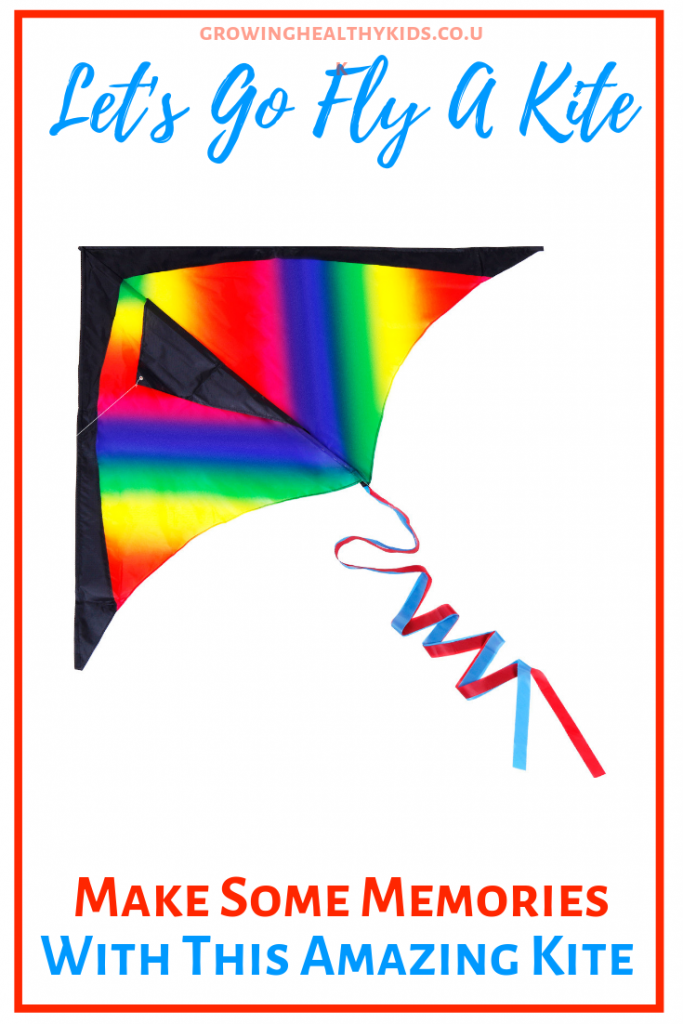 Fantastic kite fun. Pin image showing kite. Let's go fly a kite for kids.