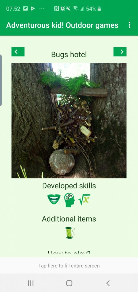 Nature app activities to try with kids flower wellies