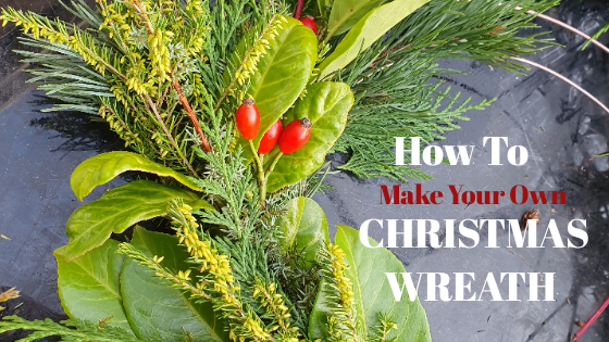 Easy Christmas Wreath Making Guide. A Step by step tutorials with diy ideas to using fresh, natural supplies for beginners