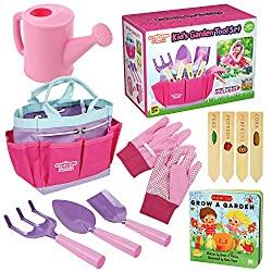 Gardening kit for kids. A starter set for kids