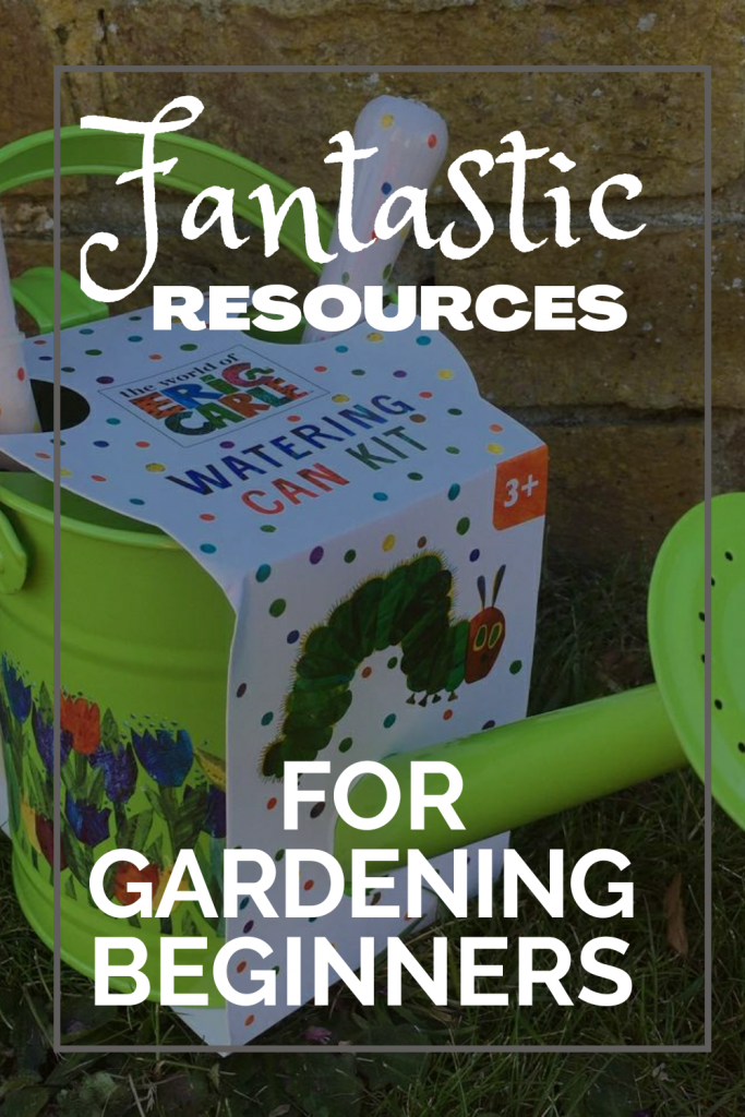 Watering can is a must for beginner gardeners